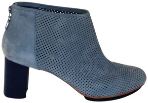 Camper Blue Gray Perforated Boots