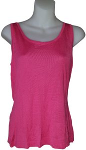 Terry Lewis Silk Womens Fancy Top Pink