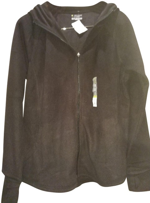 Item - Black XL New Fleece Activewear Outerwear Size 16 (XL, Plus 0x)