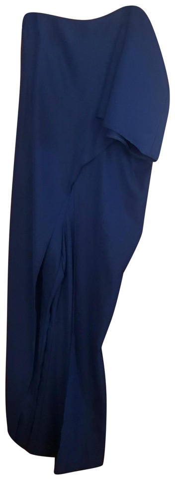f1de1efc3a2d6 VENUS Royal Blue Z81110-one Shoulder Romper Jumpsuit - Tradesy
