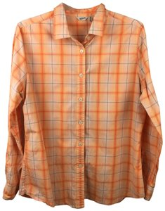 Woolrich Button Down Shirt Orange