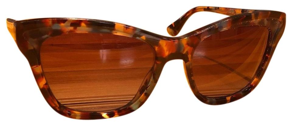 607cd2205100 Prada Brown Leopard Print Square Sunglasses - Tradesy
