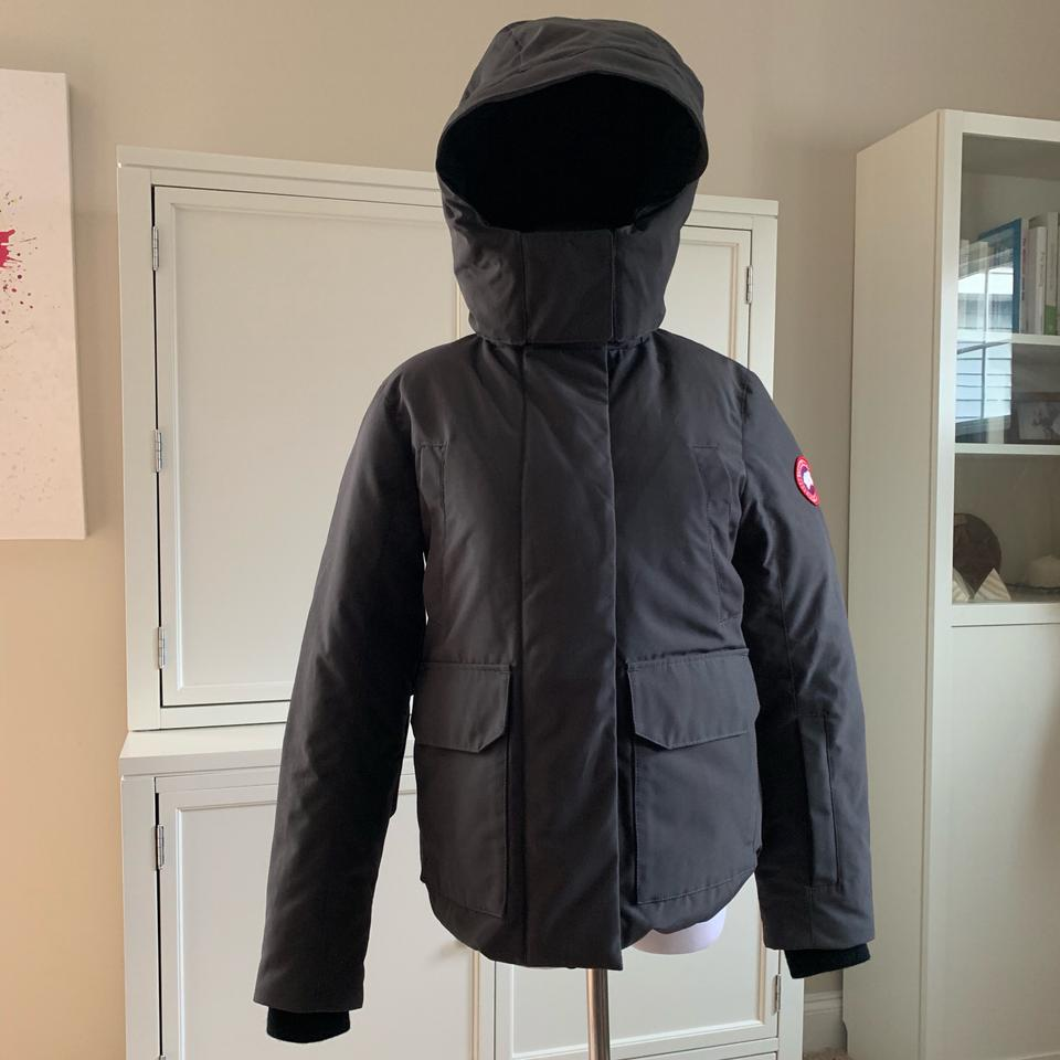65542dca6 Canada Goose Gray Blakely Parka In Graphite 5804l Coat Size 00 (XXS) 26%  off retail