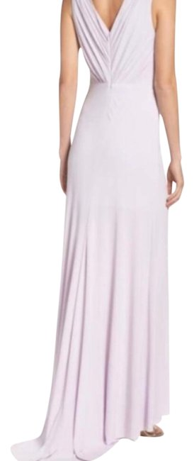 Item - Lilac (Purple) Jersey Women's Pleated Fit & Flare Gown Formal Dress Size 12 (L)