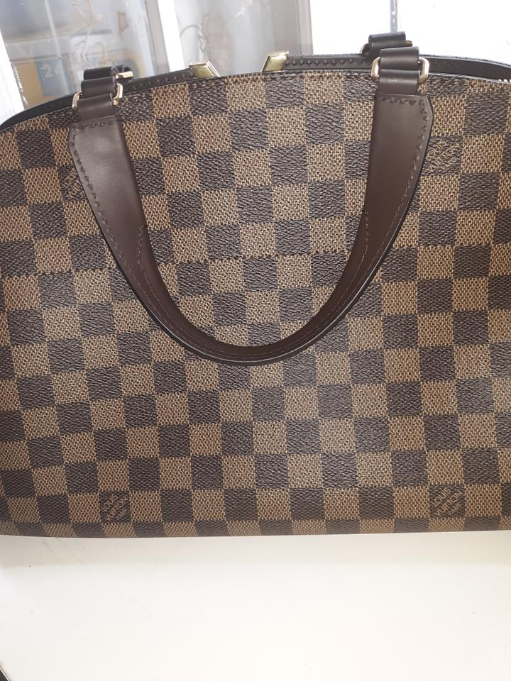 09b3031f1163 Louis Vuitton Kensington Coated Damier Ebene Canvas   Cow Hide Trim ...