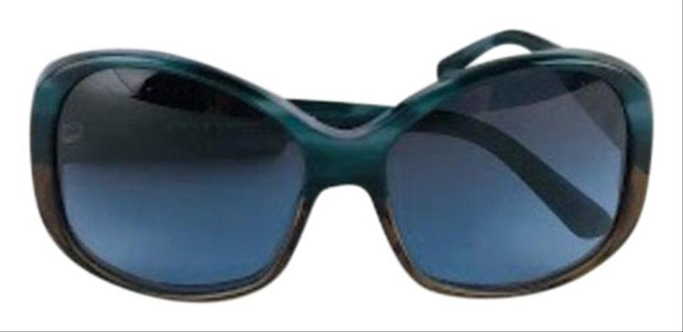 e0d94fd1c8 Prada Blue Gradient Movie Star Sunglasses 51% off retail