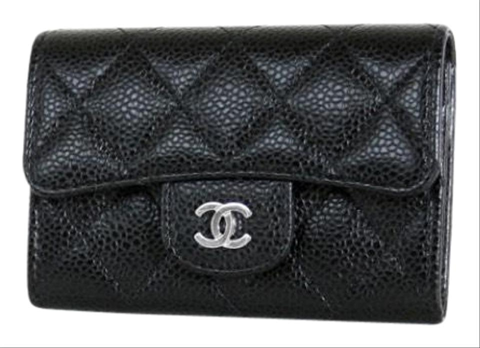 b81f8f97694a Chanel Classic Quilted Caviar Card Holder Wallet - Tradesy