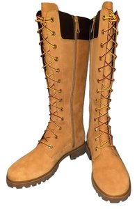 Timberland Nwb Suede Knee High Spicy Mustard Boots