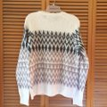 Ann Taylor LOFT Wool Mohair Fair Isle Multicolor Sweater Ann Taylor LOFT Wool Mohair Fair Isle Multicolor Sweater Image 4