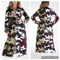Unbranded Color Block Camo Camouflage Coat Size 6 (S) Unbranded Color Block Camo Camouflage Coat Size 6 (S) Image 1
