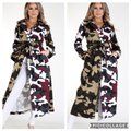 Unbranded Color Block Camouflage Coat Size 28 (Plus 3x) Unbranded Color Block Camouflage Coat Size 28 (Plus 3x) Image 1