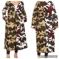 Unbranded Color Block Camouflage Coat Size 28 (Plus 3x) Unbranded Color Block Camouflage Coat Size 28 (Plus 3x) Image 2