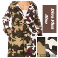 Unbranded Color Block Camouflage Coat Size 28 (Plus 3x) Unbranded Color Block Camouflage Coat Size 28 (Plus 3x) Image 3