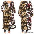 Unbranded Color Block Camouflage Coat Size 28 (Plus 3x) Unbranded Color Block Camouflage Coat Size 28 (Plus 3x) Image 4