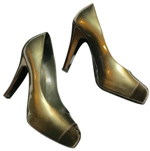 c4fe2b8bbe93 Women s Green Chanel Shoes - Up to 90% off at Tradesy