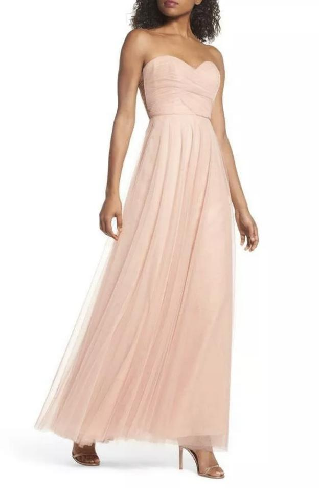 60c2cf26f7 Jenny Yoo Cameo Pink Julia Convertible Soft Tulle Bridesmaid Gown Formal  Dress
