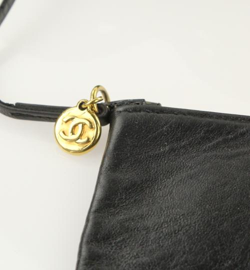 Chanel Vintage Bucket Lambskin Leather Shoulder Bag Image 10