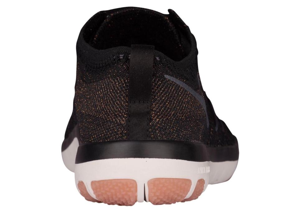 16a4e3c06336 Nike Rose Gold Trainers Free Gym Running Black Athletic Image 7. 12345678