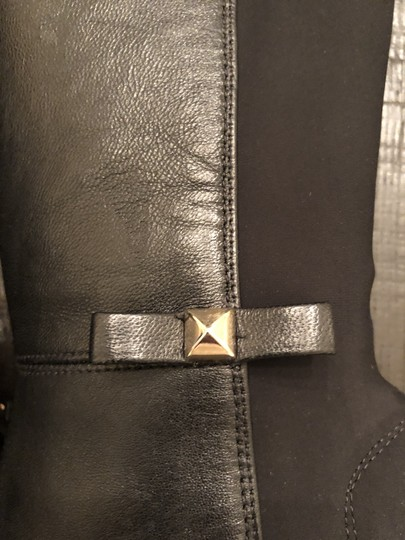 Kate Spade Wedge Leather Black Boots Image 5