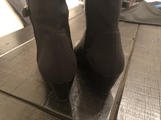 Kate Spade Wedge Leather Black Boots Image 7