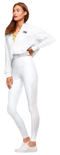 Item - White Pink Nation Ultimate High Waist Yoga Activewear Bottoms Size 0 (XS, 25)
