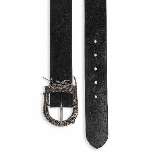Saint Laurent Classic Leather Logo Buckle