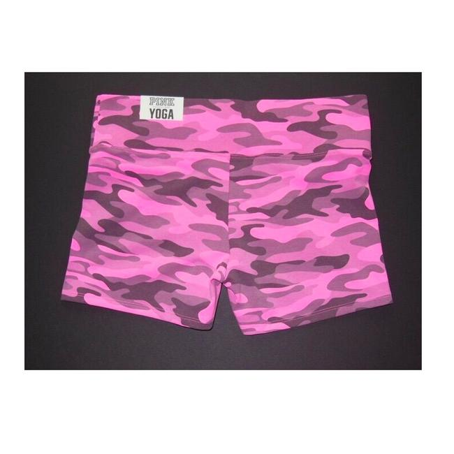 PINK PINK YOGA Sports Fitness Shortie Shorts Image 1