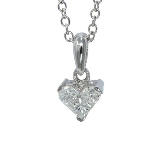 Preload https://img-static.tradesy.com/item/24960803/white-gold-princess-invisible-heart-diamond-pendant-033-ct-c31000011-necklace-0-0-540-540.jpg