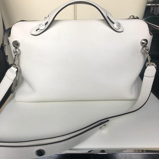Fendi Satchel in white and brown Image 2