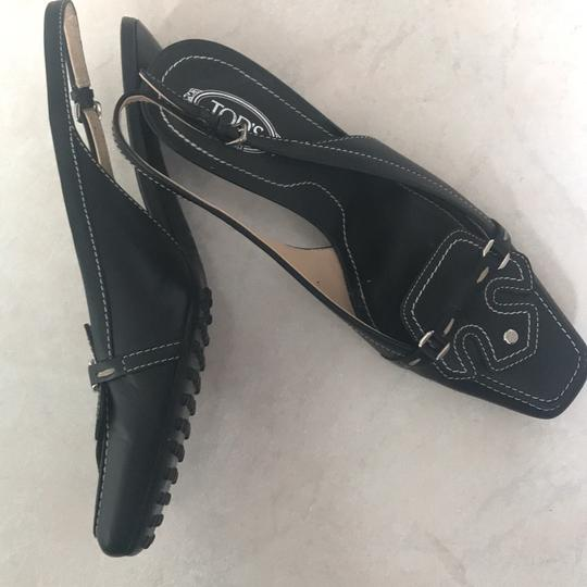 Tod's Black Pumps Image 2