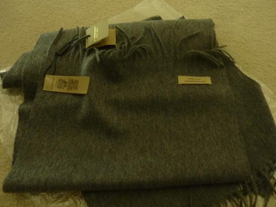 Burberry Burberry Vintage Crest Embroidered Cashmere Scarf Image 4