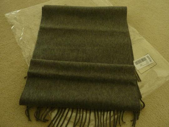 Burberry Burberry Vintage Crest Embroidered Cashmere Scarf Image 5