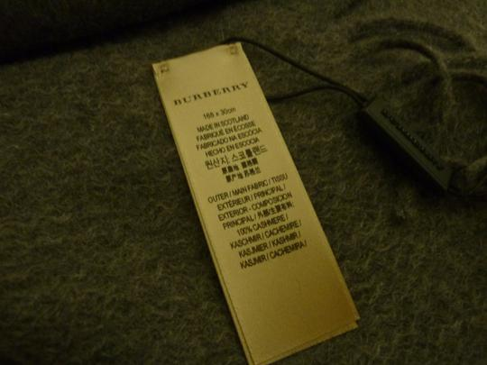 Burberry Burberry Vintage Crest Embroidered Cashmere Scarf Image 6