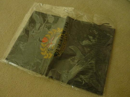 Burberry Burberry Vintage Crest Embroidered Cashmere Scarf Image 7