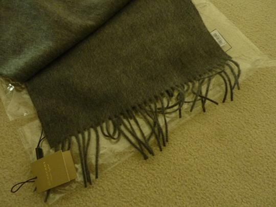 Burberry Burberry Vintage Crest Embroidered Cashmere Scarf Image 9