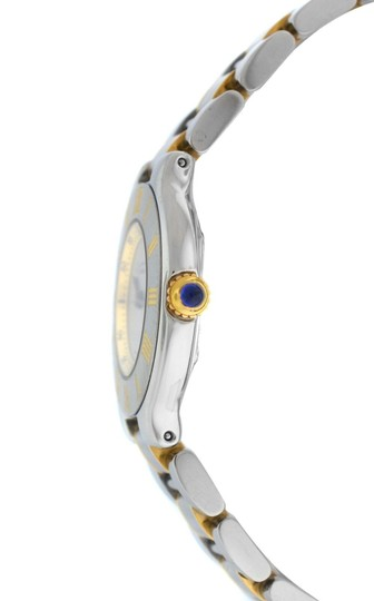 Cartier Ladies Cartier Must de Cartier 1340 Ref. W10073R6 Quartz Steel Gold Image 1