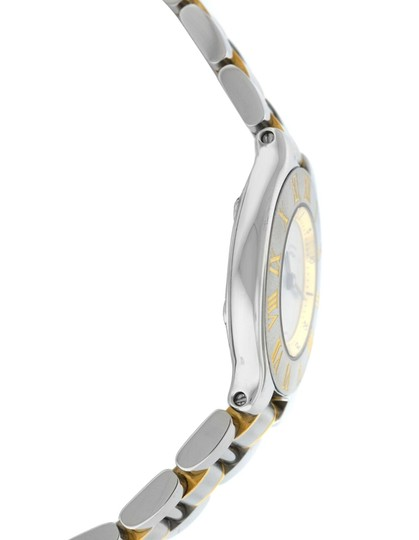 Cartier Ladies Cartier Must de Cartier 1340 Ref. W10073R6 Quartz Steel Gold Image 2