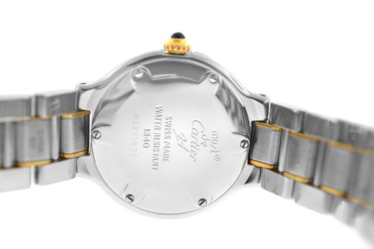 Cartier Ladies Cartier Must de Cartier 1340 Ref. W10073R6 Quartz Steel Gold Image 4