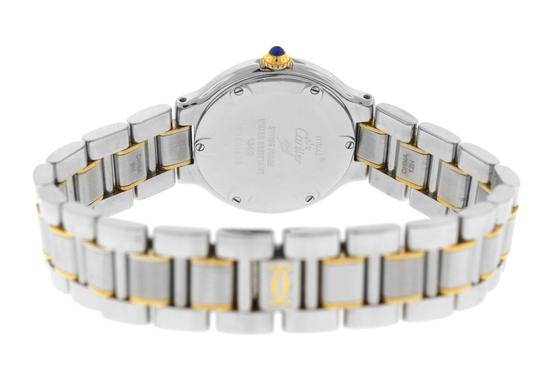 Cartier Ladies Cartier Must de Cartier 1340 Ref. W10073R6 Quartz Steel Gold Image 5