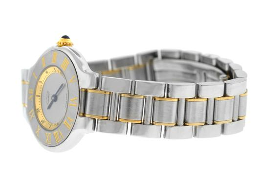 Cartier Ladies Cartier Must de Cartier 1340 Ref. W10073R6 Quartz Steel Gold Image 6