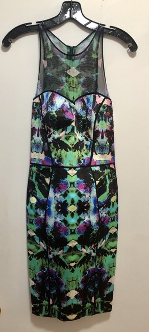MILLY Multicolor Classic Dress Image 1