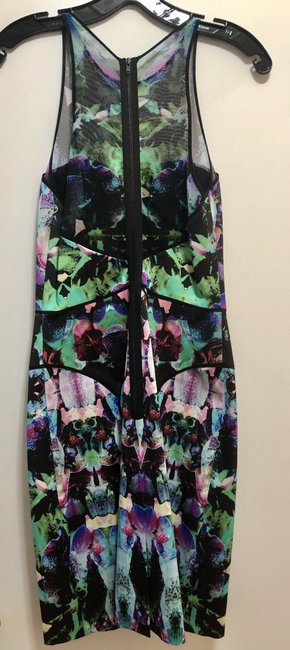 MILLY Multicolor Classic Dress Image 2