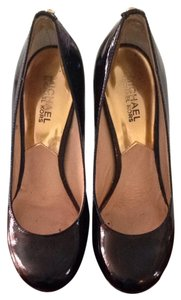 Michael Kors Black Patent Leather Pumps