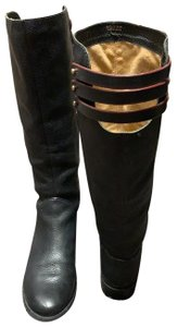 Cynthia Vincent Leather Riding Leather Riding black Boots