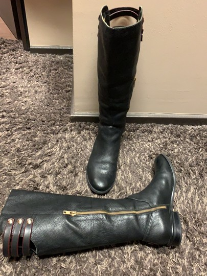Cynthia Vincent Leather Riding Leather Riding black Boots Image 3