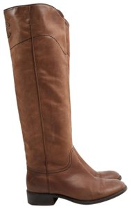 Chanel Round Toe Brown Boots