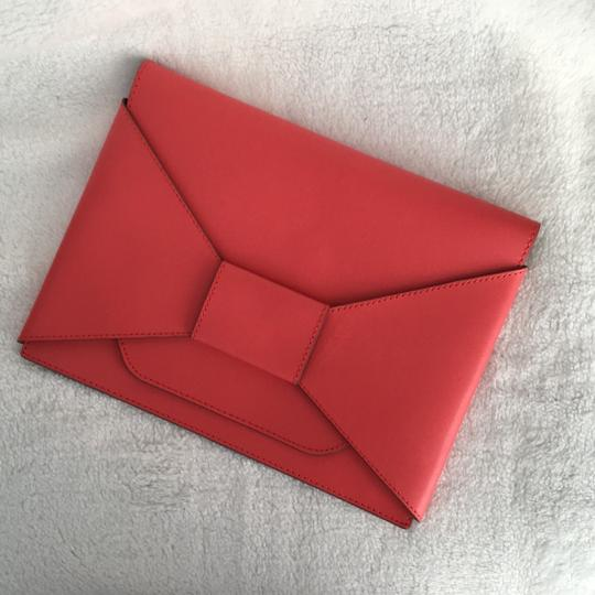 Banana Republic Coral red Clutch Image 1