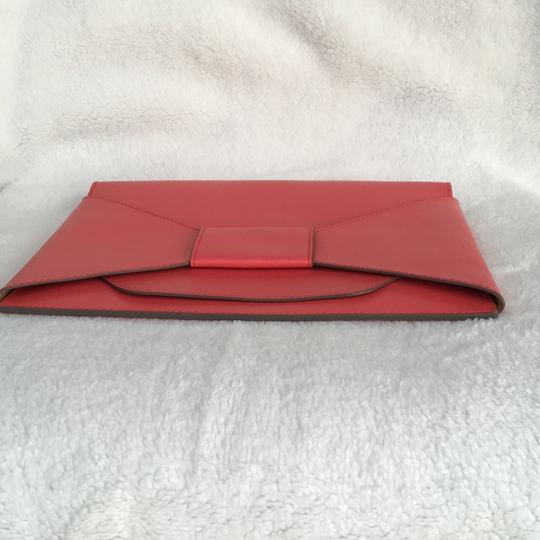 Banana Republic Coral red Clutch Image 3