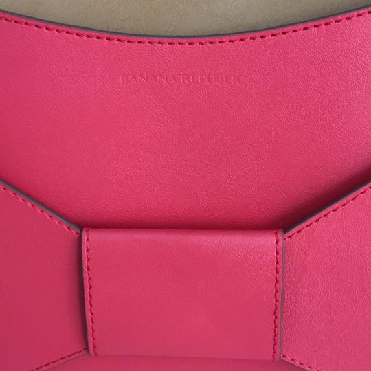 Banana Republic Coral red Clutch Image 6