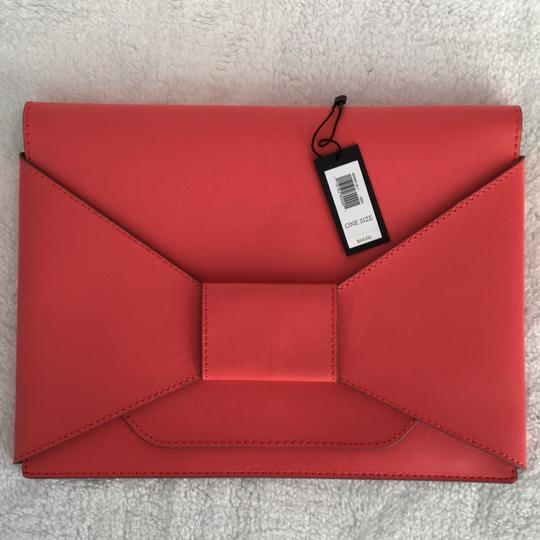 Banana Republic Coral red Clutch Image 8